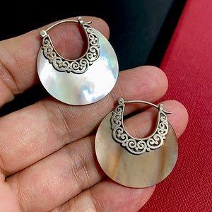 🖤MOP Silver earrings